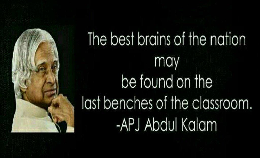 Best brain last bench