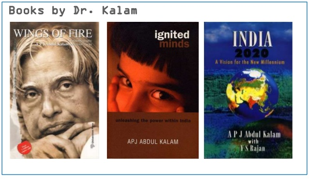 Books by dr. APJ Abdul Kalam