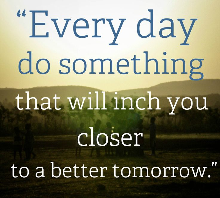 Every Day Do something