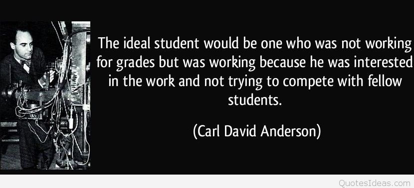 Ideal student quote